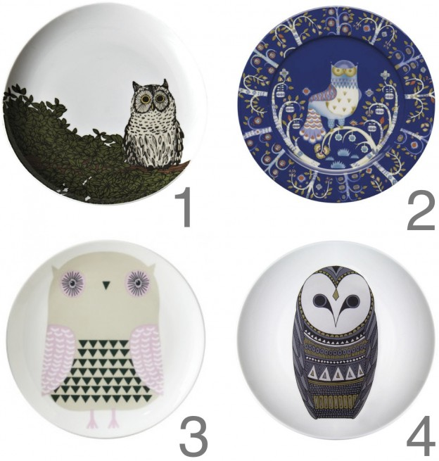 owl final edit  sc 1 st  owlu0027s house london. & owly plates. | owlu0027s house london.