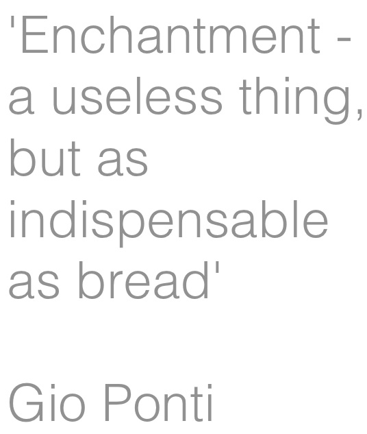 gio ponti enchantment
