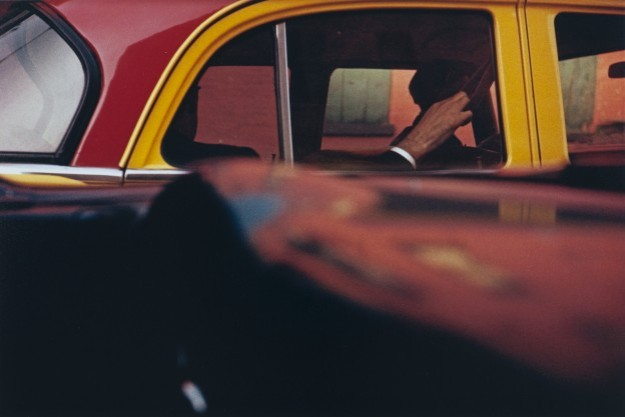 81671.Taxi 1957 � Saul Leiter, courtesy of HackelBury Fine Art  Howard Greenberg Gallery
