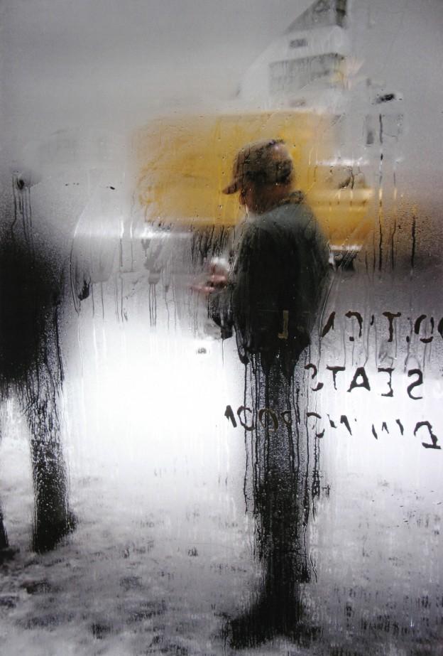 85527. Snow 1960 � Saul Leiter, courtesy of HackelBury Fine Art Howard Greenberg Gallery